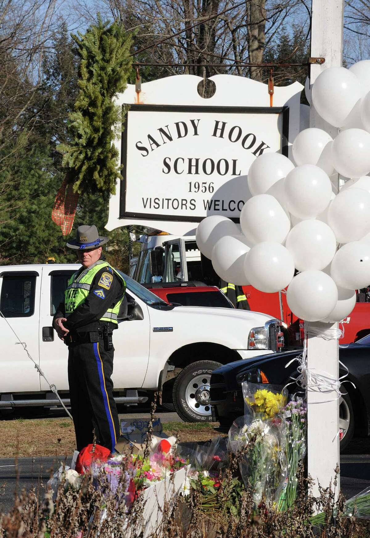 The 2012 shooting at the Sandy Hook Elementary School in Newtown, Conn., left 26 dead. The FBI says planning for the attack had begun 21 months earlier.
