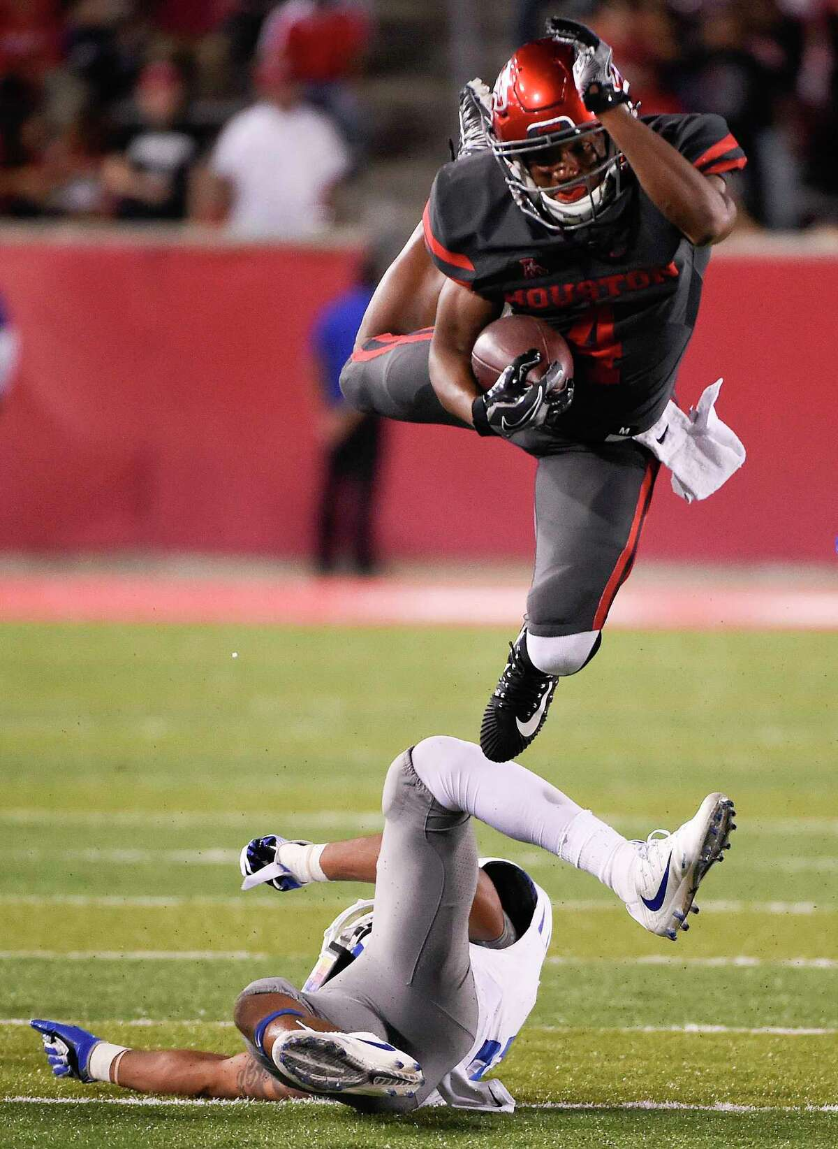 Sophomore D'Eriq King's playmaking ability makes him a tantalizing weapon, with many fans wanting to see more of him, especially at quarterback.