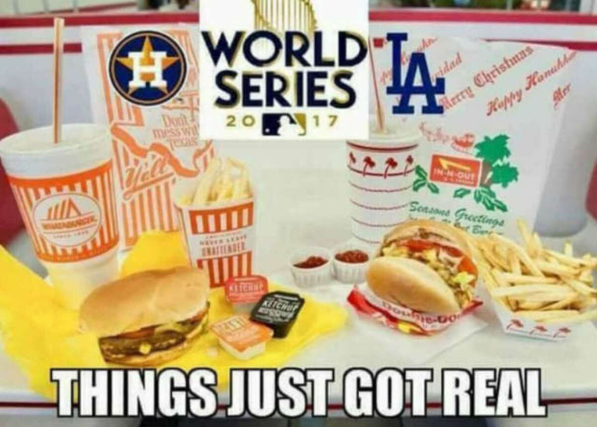 The best memes from Game 1 of the Astros-Dodgers World Series.