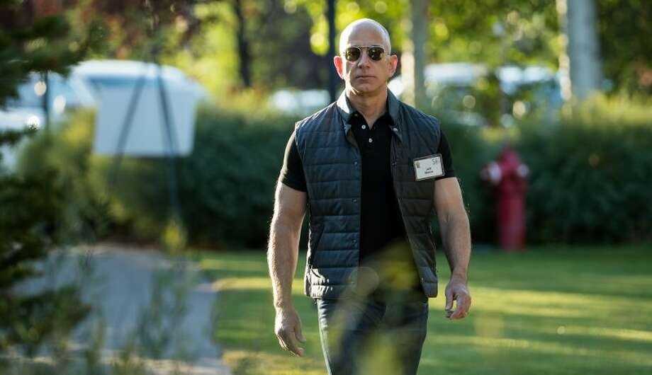 Jeff Bezos, founder and CEO of Amazon, once again surpassed Bill Gates on Friday to become the richest person in the world. Photo: Drew Angerer | Getty Images