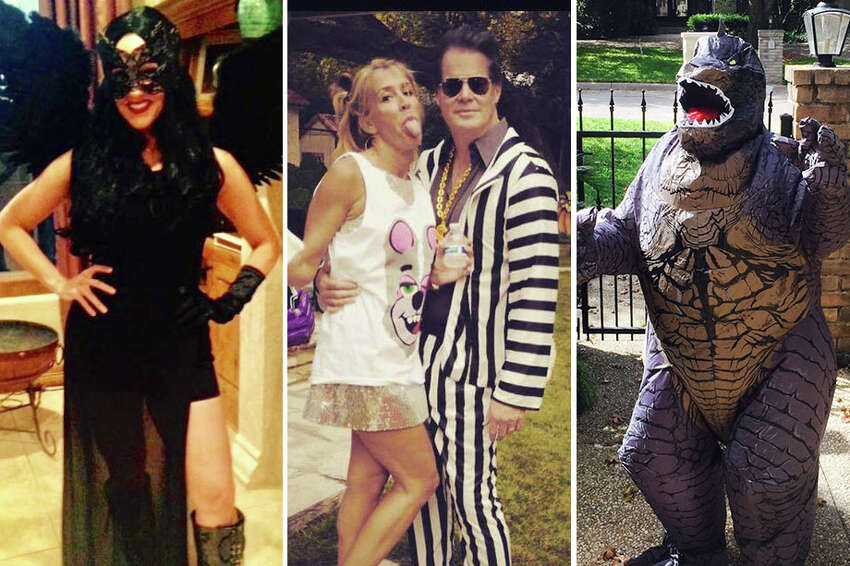 San Antonio's TV news personalities may look fairly buttoned up on-air, but they got wild, wicked or all-out wacky for Halloween 2016. Click through the gallery to view creepy, crazy and darned cute costumes from 2016.