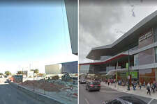 Before and after - convention center