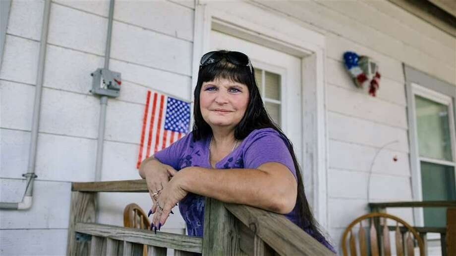 Brandi Wagner is disabled and unable to work because of the depression and anxiety she developed in the wake of Hurricane Katrina. Photo: Politico