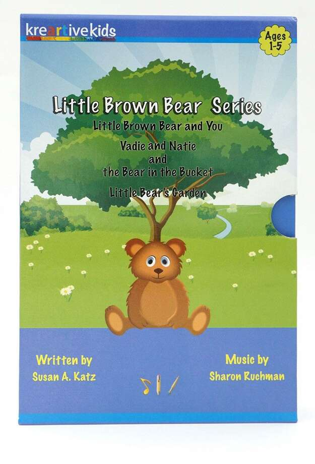 "Washington residents Susan Katz and Sharon Ruchman have released the ""Little Brown Bear"" original stories and music CDs for young children. Photo: Courtesy Of Susan Katz And Sharon Ruchman / The News-Times Contributed"