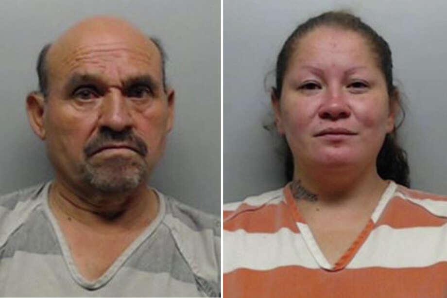Police identified the couple as Juan Carlos Delgado Godinez, 57, and Zelyna Mireles Soto, 36. Photo: Webb County Sheriff's Office