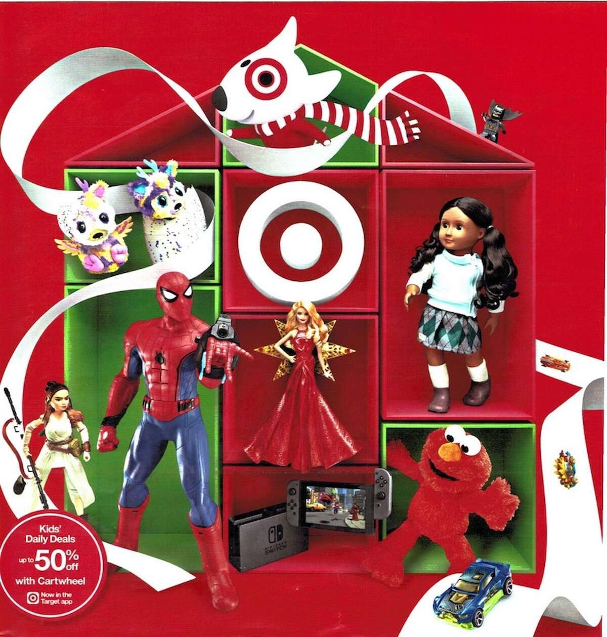 Target released their 2017 Toy Book ad to highlight their top picks of toys this gift-giving season.