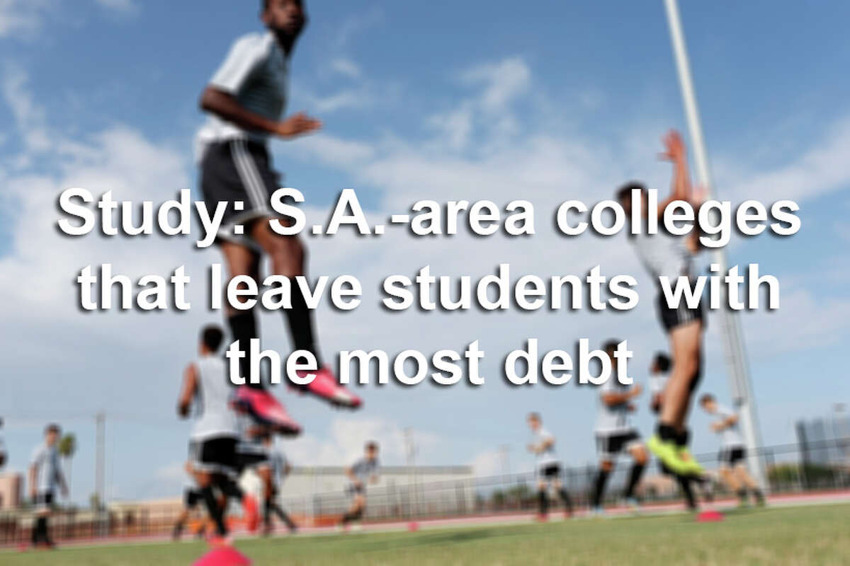 A LendEDU study found how much debt Texas students are left with after graduating. Texas was ranked 37th in the country for states with the most debt, with an average of $26,236. Click through the slideshow to see where San Antonio-area universities landed on the list.