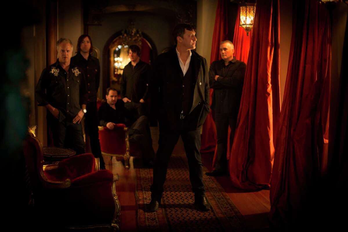 The Afghan Whigs, with Greg Dulli (center)