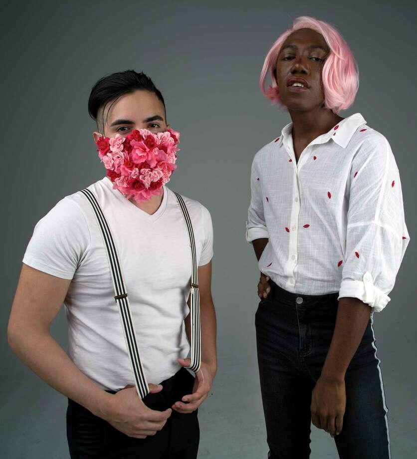 Luis Cerda, left, and Stoo Gogo form the new Houston pop duo Bling St. Photo: Godofredo A. Vasquez, Houston Chronicle / Godofredo A. Vasquez