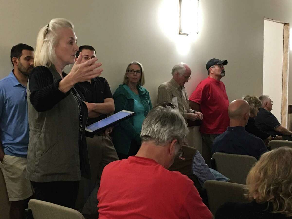 Residents had the opportunity to question City of Katy officials and representatives of Costello, the engineering firm contracted by the city to study flooding, at the Oct. 23 Katy City Council meeting.