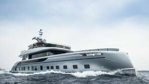 The Dynamiq GTT 115 Hybrid is a new superyacht designed in collaboration with Studio F.A. Porsche. Monaco-based Dynamiq will allow extensive customization for orders of the yacht, but will only build seven. Before customization, the yacht will start at a mere€12,500,000 (about $14.7 million U.S.).