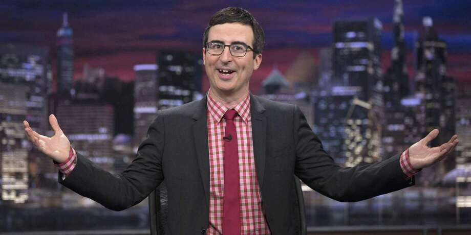 """John Oliver's """"Last Week Tonight"""" has often lampooned the awkward sexual tension on """"CBS This Morning.""""  Photo: Contributed Photo / Not For Resale"""