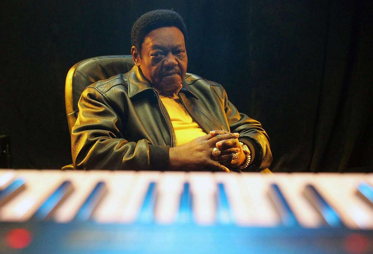 Fats Domino at Tipitina's in New Orleans on Feb. 27, 2006. Domino, a singer known for his two-fisted boogie-woogie piano and nonchalant vocals who had more than three dozen hits in the 1950s and 1960s, has died in Louisiana. He was 89.