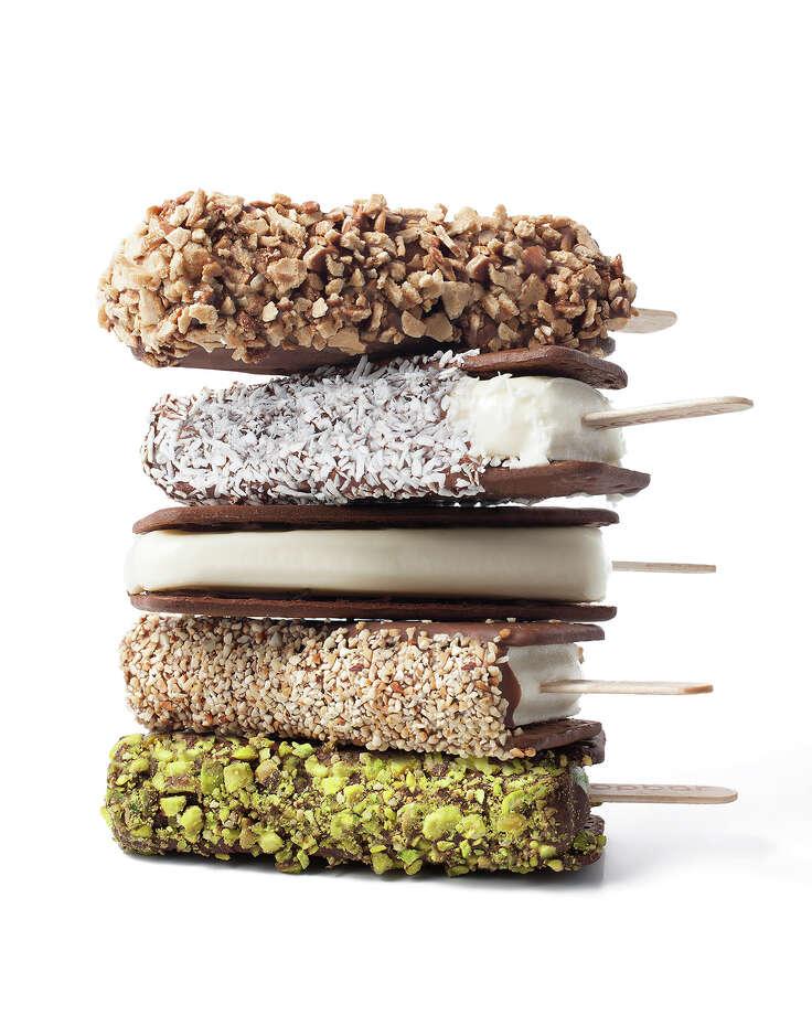 Popbar serves all natural, handcrafted gelato, sorbet and yogurt on a stick. Photo: Popbar