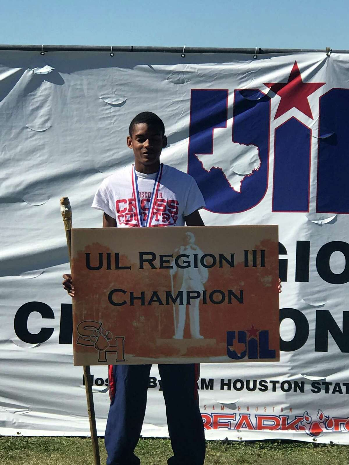 Atascocita senior Worthington Moore won the region meet and is advancing to the state meet for the second consecutive year