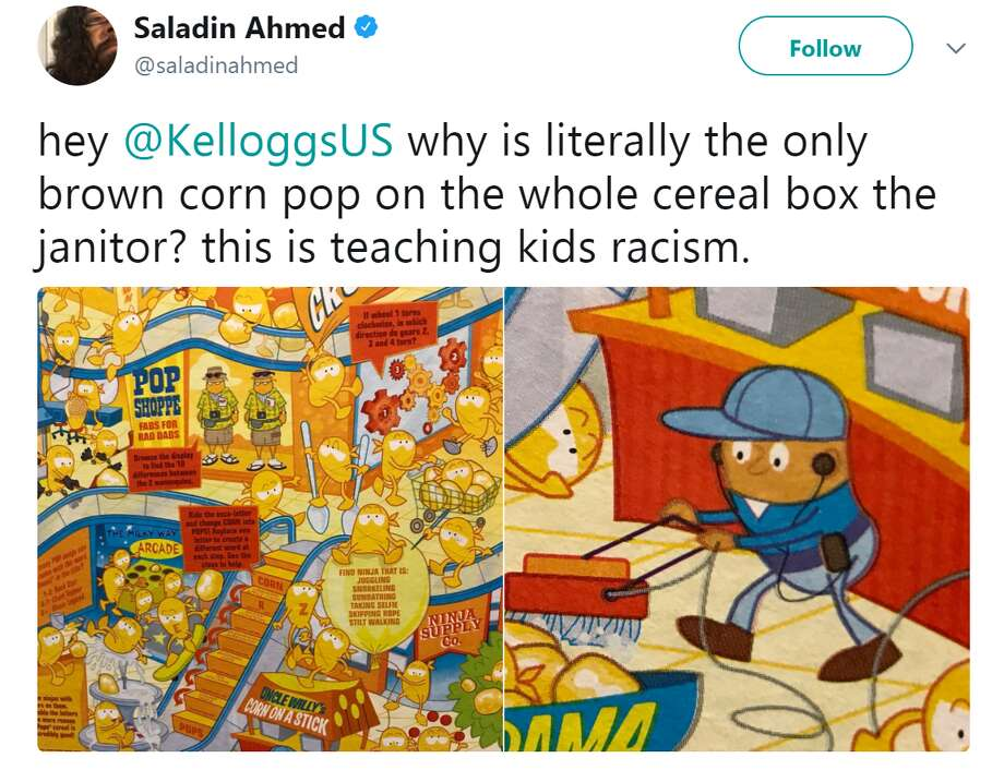 Kellog's will be changing the artwork on its Corn Pops cereal after being criticized for being racist.See the biggest gaffes, mistakes and blunders companies have made in the past.saladinahmed Photo: Saladinahmed
