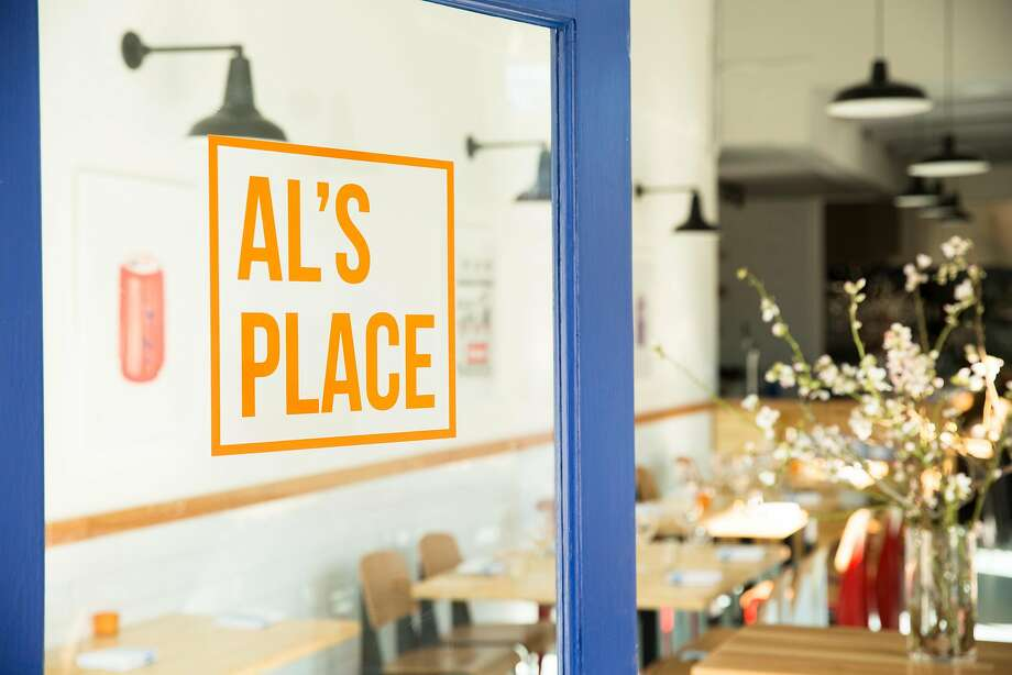 AL's Place, the new restaurant from former Ubuntu chef Aaron London, which opened in San Francisco in February, 2015. Photo: Molly DeCoudreaux Photography