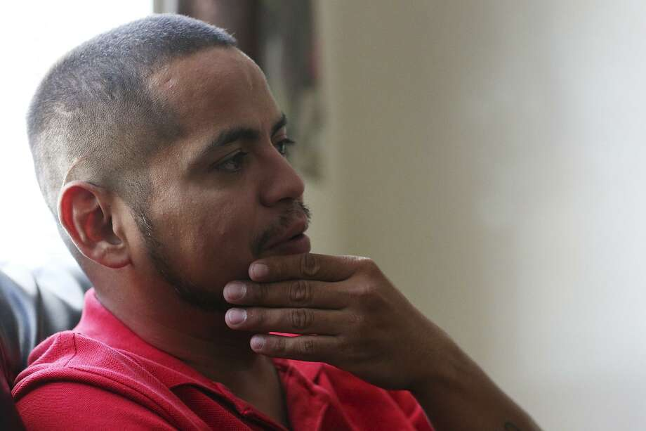 "Army veteran Jesus Bocanegra, 35, has coped with post-traumatic stress disorder since returning from Iraq in 2004 and remains plagued by suicidal thoughts. ""Every day I have to fight for my life,"" the McAllen resident said. Photo: JERRY LARA /San Antonio Express-News / © 2015 San Antonio Express-News"