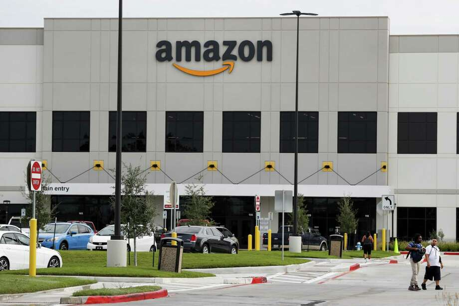 The Amazon warehouse complex is shown on Wednesday, Sept. 27, 2017, in Houston.Amazon.com Inc. is going to start delivering packages not just to doorsteps, but inside homes as well. Photo: Brett Coomer /Houston Chronicle / © 2017 Houston Chronicle