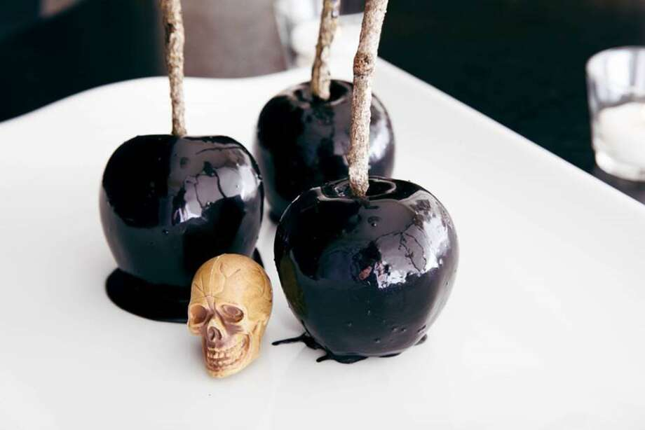Black Magic Candied Apples by Michelle Fitzgerald. Photo: Courtesy Michelle Fitzgerald