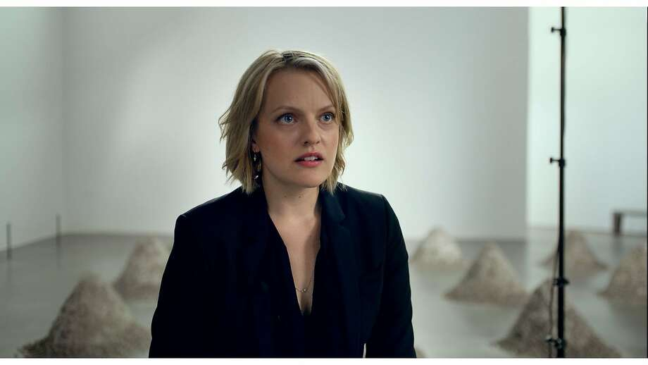 "Elizabeth Moss in ""The Square"" Photo: Magnolia"