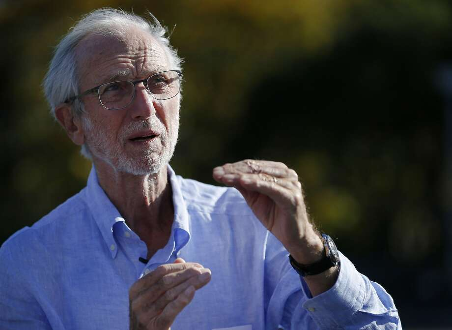 Renzo Piano during a visit to the San Ramon project. Photo: Santiago Mejia, The Chronicle