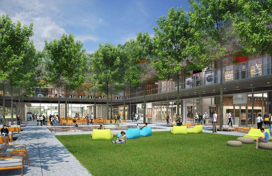 A rendering of City Center San Ramon, a shopping center being designed by Renzo Piano Building Workshop and scheduled to open late in 2018. Photo: Courtesy Sunset Development