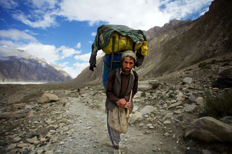 "A scene from Iara Lee's documentary ""K2 and the Invisible Footmen."" Photo: Shah Zaman Baloch, Courtesy Of Cultures Of Resistance Network"