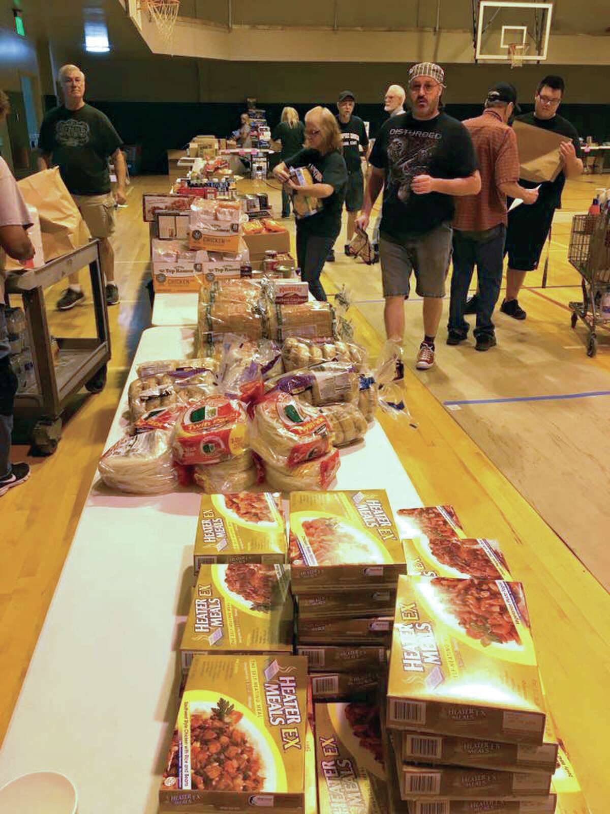 A distribution center at First Baptist Church of Cleveland helped victims of Hurricane Harvey immediately following the storm.