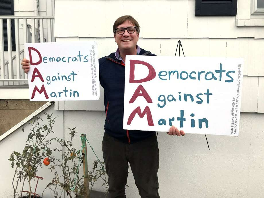 Daniel Honan is the chairman of a new political action committee, Democrats Against Martin. The group opposes Stamford Mayor David Martin who is running for a second term in November's election. Photo: Contributed Photo / Stamford Advocate Contributed