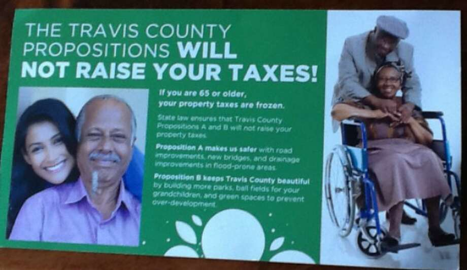 Readers asked us to check claims by Travis Forward, a PAC, about Travis County bond propositions not costing older residents any money in added taxes (reader submission, October 2017).