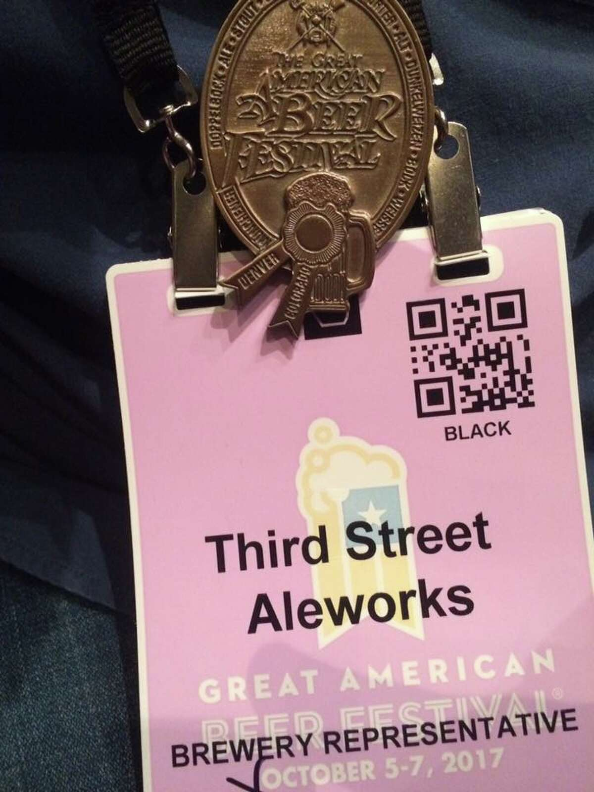 Third Street AleWorks took home a bronze medal from GABF in the category of Classic English-Style Pale Ale.