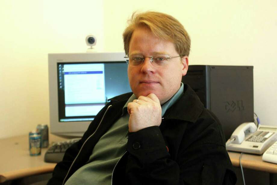 Robert Scoble, formerly a technical evangelist for Microsoft, spent several years working for Rackspace. Photo: PHIL H. WEBBER /