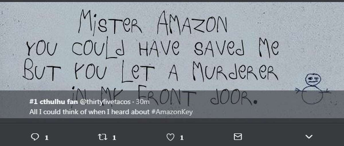 All I could think of when I heard about #AmazonKey