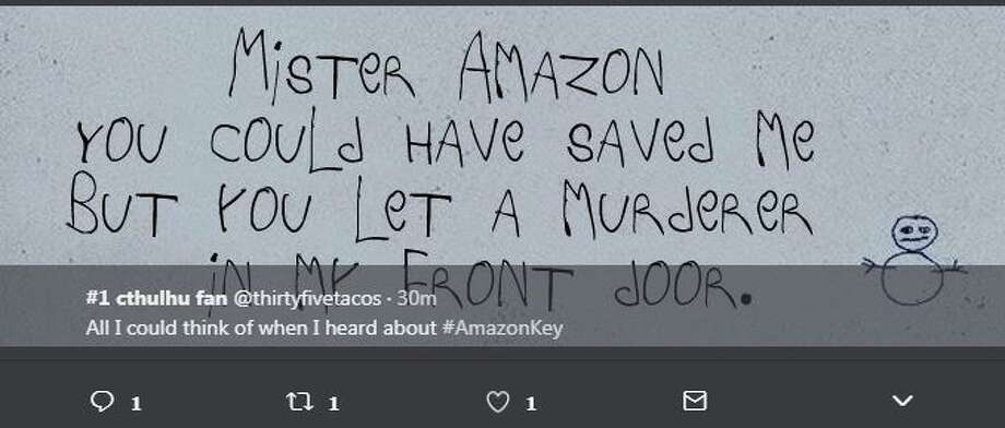 All I could think of when I heard about #AmazonKey Photo: Twitter