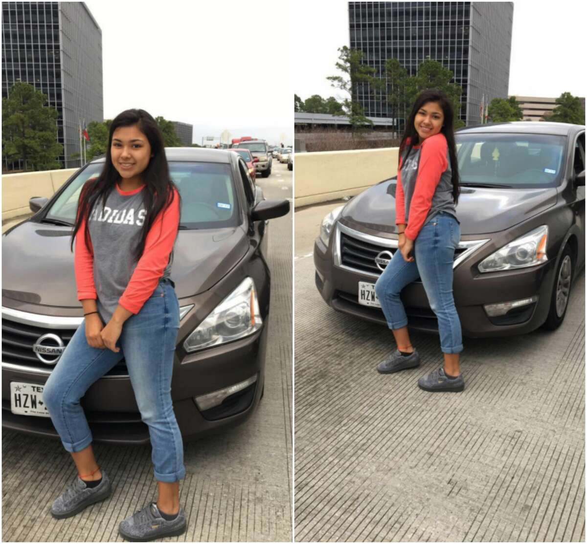 A Houston teenager said a controversial image showing her posing in front of heavy traffic doesn't tell the full story. See Houston ZIP Codes with the worst and best commutes to work.