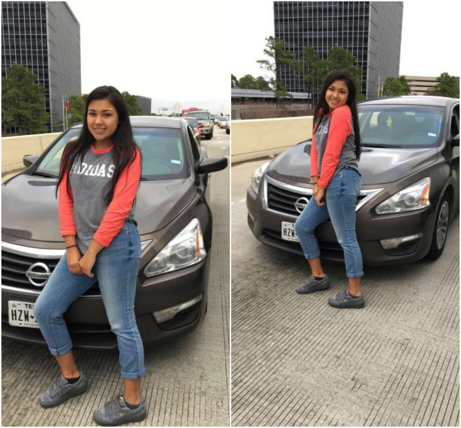 A Houston teenager said a controversial image showing her posing in front of heavy traffic doesn't tell the full story.See Houston ZIP Codes with the worst and best commutes to work. Photo: Robyn Danae Godina
