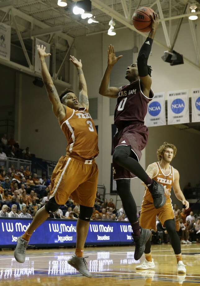 Texas A&M guard Jay Jay Chandler (0) has returned from his suspension and will be available to play in Saturday's game. Photo: Tim Warner/For The Chronicle