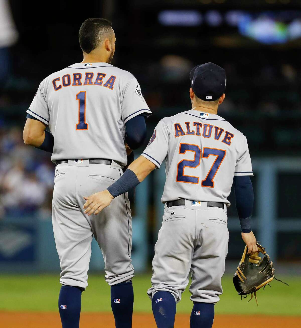 The Astros' middle infielders are as thick as thieves and are one of baseball's most dynamic second base and short stop combos.