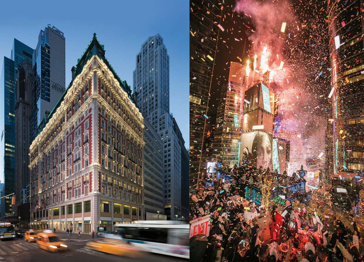 NEW YEAR'S: Experience New Year's Eve above Times Square with a private party for 300 people at The Knickerbocker Hotel - mere feet from the most famous ball of them all. the giftee will have 150 premier rooms to fill for two nights at The Knickerbocker. On December 31, 2018, the sky-high private party will brim with premium drinks, a sumptuous passed dinner, a spirited DJ, and that brilliant ball drop. PRICE TAG: $1.6 million