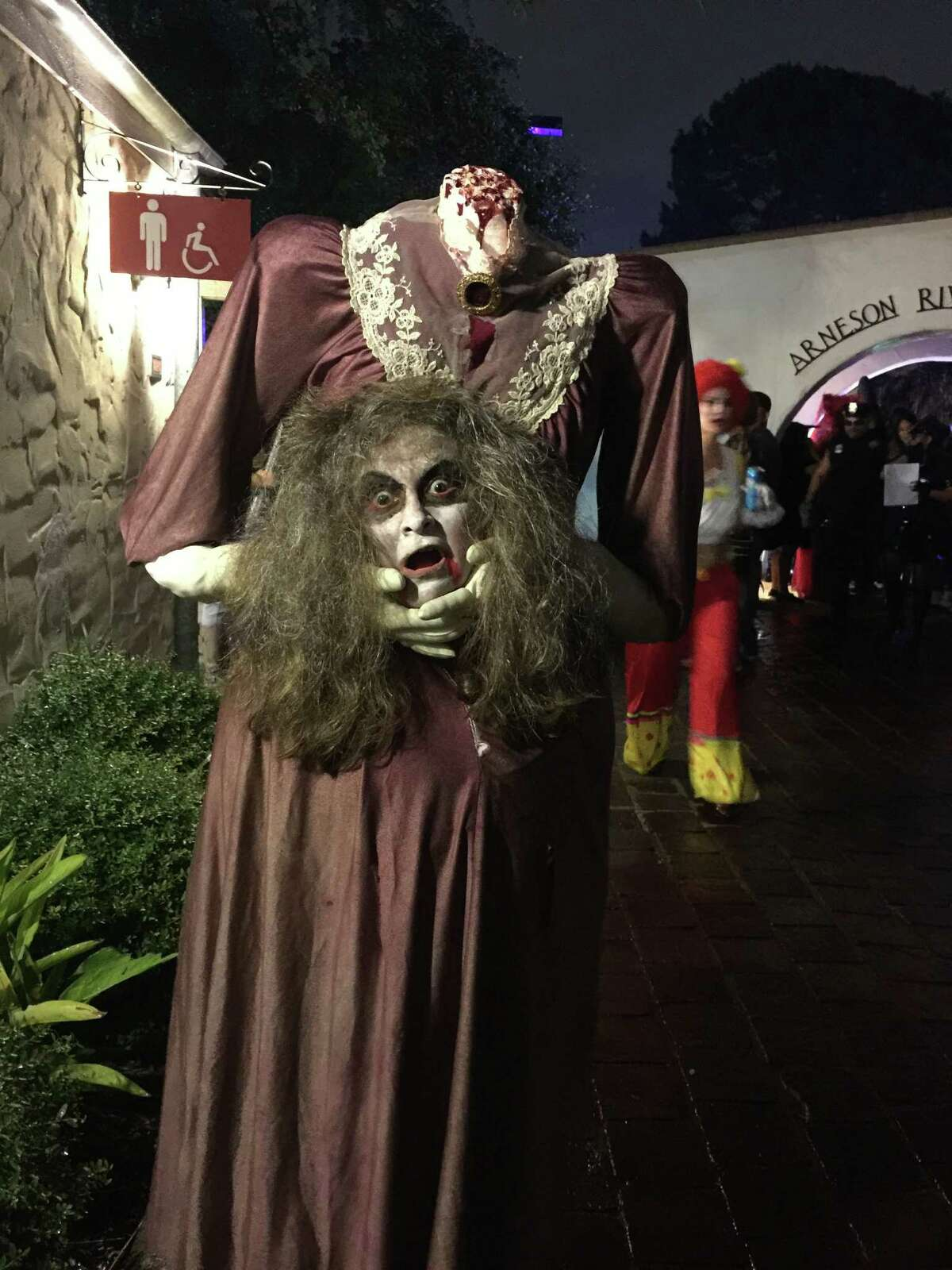The River Walk welcomes trick-or-treaters of all ages for a family-friendly Haunted River. Trick-or-treating begins at 6:30 p.m. followed by a costume contest, with a first-place prize of $500, and a decorated river parade. Free event; food and drinks available for purchase. 6-10 p.m. Friday. Arneson River Theatre, 418 Villita St. and Shops at Rivercenter 849 E. Commerce St., thesanantonioriverwalk.com. -- Polly Anna Rocha