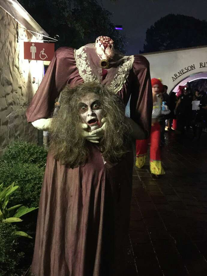 The River Walk welcomes trick-or-treaters of all ages for a family-friendly Haunted River. Trick-or-treating begins at 6:30 p.m. followed by a costume contest, with a first-place prize of $500, and a decorated river parade. Free event; food and drinks available for purchase.6-10 p.m. Friday. Arneson River Theatre, 418 Villita St. and Shops at Rivercenter 849 E. Commerce St., thesanantonioriverwalk.com.   -- Polly Anna Rocha Photo: Courtesy San Antonio River Walk Association