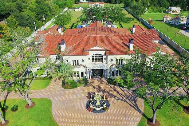 The Palladian-style home at 6 W. Rivercrest is on the market in Houston's Rivercrest area.