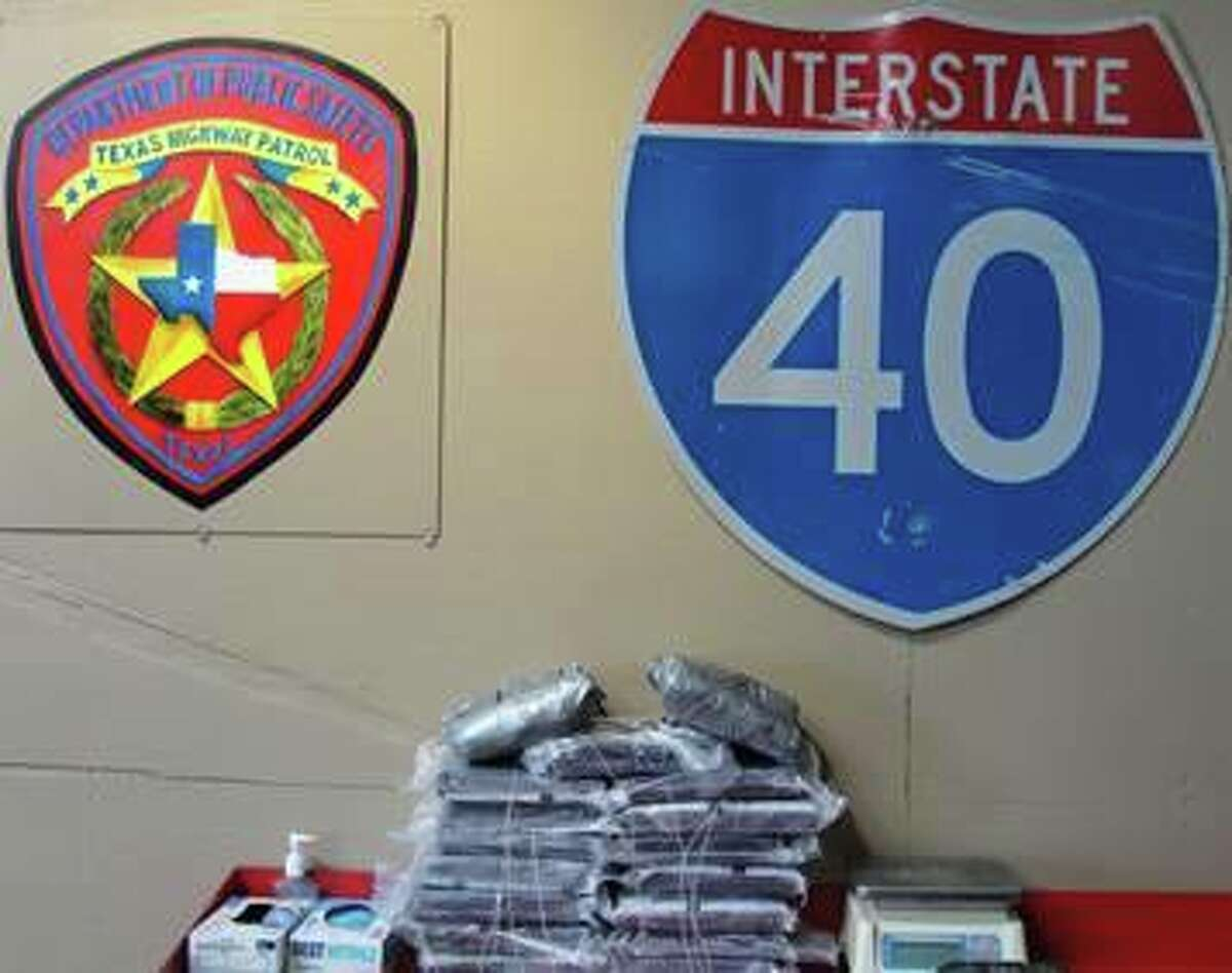 A Texas Department of Public Safety trooper seized $2.7 million worth of drugs from a vehicle on Oct. 17, 2017.