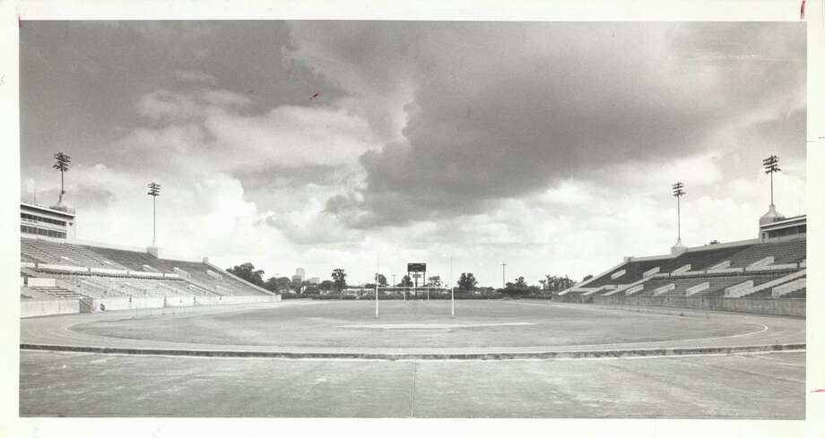 The former Houston Public School Athletic Field was renamed Jeppesen Stadium in 1958. Photo: Curtis McGee, Houston Chronicle / Houston Chronicle