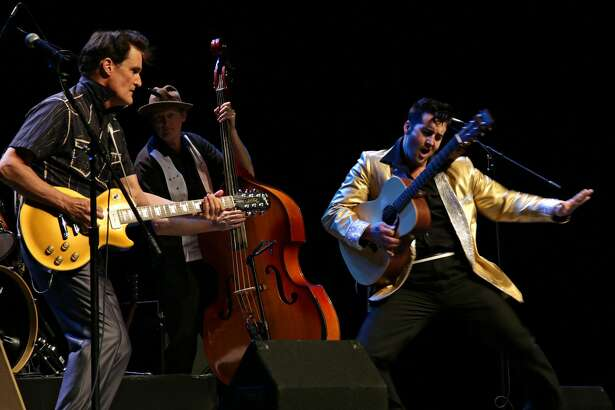 """One Night in Memphis"" tribute show to Elvis Presley, Carl Perkins, Jerry Lee Lewis and Johnny Cash presented by the Cowan Performing Arts Series. will be at the Midland College Chaparral Center,"