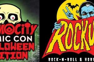 Two horror conventions in San Antonio during the same Halloween weekend? Believe it! Get ready for Alamo City Comic Con Halloween Edition and Rockula Horror Expo, both running Oct. 27-29. Alamo City's horror con is at the Alamodome, while Rockula rocks the Wyndham San Antonio Riverwalk.