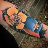 Houstonians Are Showing Houston Astros Love With These Tattoos San