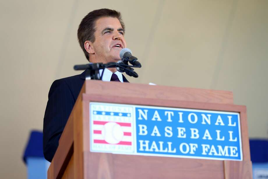 MLB Network host Brian Kenny was an early proponent of the Astros' analytics-heavy approach, for which he caught grief from colleagues. Photo: Alex Trautwig/MLB Photos Via Getty Images