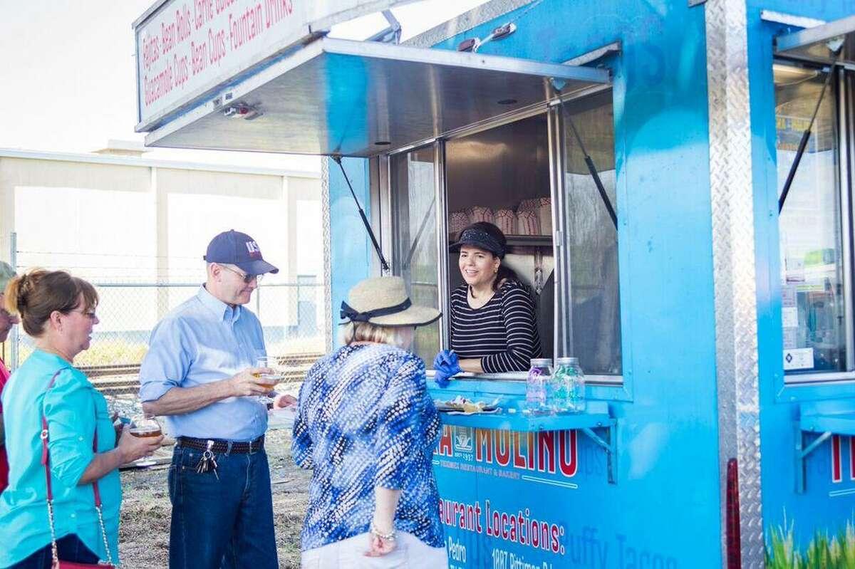 Teka Molino participated in the San Antonio Food Truck Showdown in a previous year.